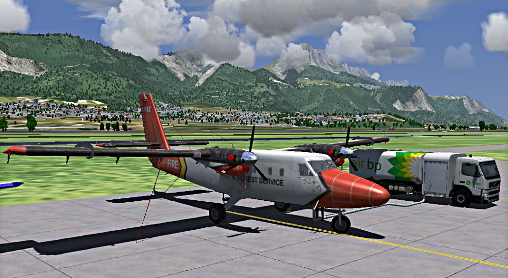 dhc6 ground service