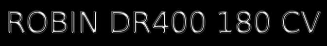 Titre dr400 180cv